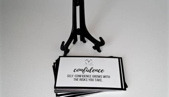 confidence - encouragement cards store